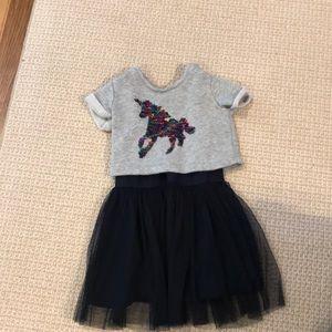 Flip sequin unicorn GAP dress xs (4/5)